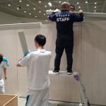 企画展の展示設営・工業